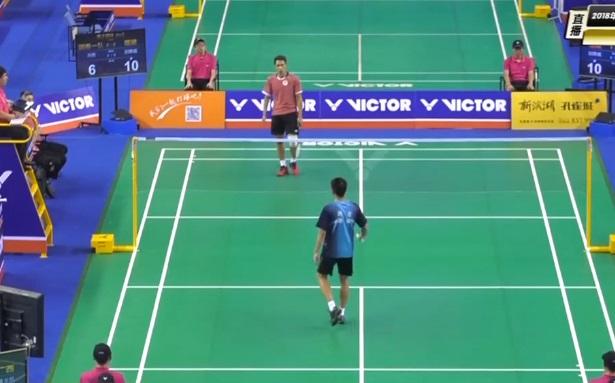 田厚威VS刘亮 2018全国团体锦标赛 男团小组赛视频