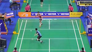 翁泓阳VS谭振东 2018全国团体锦标赛 小组赛视频