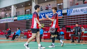 2018韩国全运会1/4决赛 李龙大/催率圭VS申白喆/高成炫