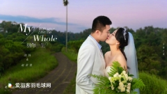洪炜、赵芸蕾唯美婚纱照曝光,两人甜蜜撒狗粮