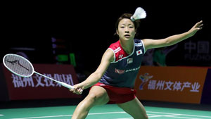 奥原希望VS成池铉 2018中国福州羽毛球公开赛 女单1/8决赛一分6合视频