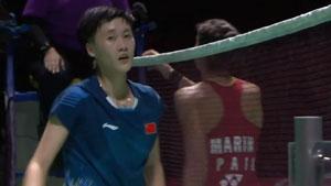 陈雨菲VS马琳 2018中国福州羽毛球公开赛 女单半决赛视频