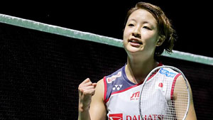 奥原希望VS何冰娇 2018中国福州羽毛球公开赛 女单半决赛视频