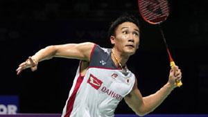 桃田贤斗VS周天成 2018中国福州羽毛球公开赛 男单决赛视频