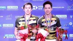 2018赛季豪夺9冠1亚!小黄人组合垄断羽坛男双项目