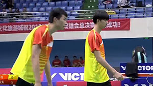 李靖恒/赵文涛VS刘寅/左午场 2018双雄会混合团体赛 混合团体决赛视频