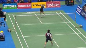 山口茜VS奥原希望 2018日本全国锦标赛 女单决赛视频