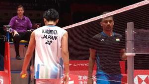桃田贤斗VS萨米尔·维尔马 2018世界羽联总决赛 男单小组赛视频