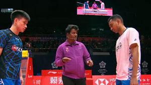 苏吉亚托VS王正干 2018世界羽联总决赛 男单小组赛视频