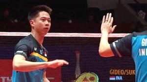 蘇卡穆約/費爾納迪VS索倫森/安德斯 2018世界羽聯總決賽 男雙小組賽視頻