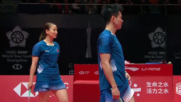 鄭思維/黃雅瓊VS吳順發/賴潔敏 2018世界羽聯總決賽 混雙小組賽視頻