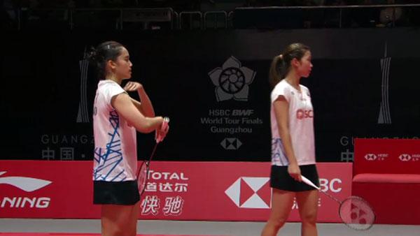 基蒂塔拉库尔/拉温达VS斯托伊娃/加夫列拉 2018世界羽联总决赛 女双小组赛视频