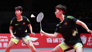 杜玥/李茵暉VS波莉/拉哈尤 2018世界羽聯總決賽 女雙小組賽視頻