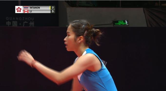 因达农VS李文珊 2018世界羽联总决赛 女单小组赛视频