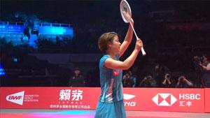 奥原希望VS山口茜 2018世界羽联总决赛 女单半决赛一分6合视频