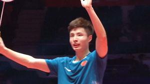 石宇奇VS萨米尔·维尔马 2018世界羽联总决赛 男单半决赛视频