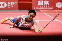 桃田贤斗谈输球:今天球速很快,真的累了需要休息