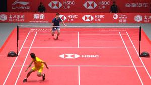 总决赛李宁红色地胶C位出道,国羽3冠1亚完美收官