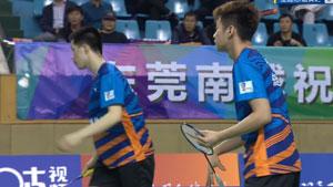 刘子杰/任翔宇VS金逸伦/唐寅之 2018中国羽超联赛 混合团体小组赛视频