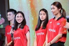 泰国大师赛举行发布会,泰羽协主席盼金达汶夺冠