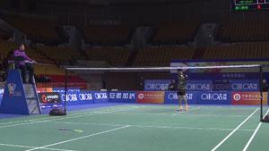 王祉怡VS李雪芮 2018中国羽超联赛 混合团体小组赛视频