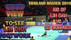 【场边视角】泰国大师赛,林丹vs陆光祖