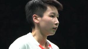 陈晓欣VS陈雨菲 2018中国羽超联赛 混合团体决赛视频