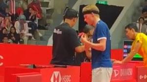 孤身一人对抗魔鬼主场,安东森打入印尼大师赛决赛