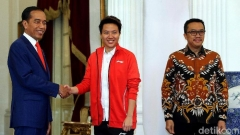 """印尼總統召見納西爾,""""希望年輕選手向她學習"""""""