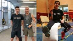 """冠军是怎样炼成的?林丹大年初一训练,马琳""""瘸腿""""每天仍训练6小时"""