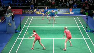 拉菲尔/安妮VS迈肯/汉森 2019欧洲混合团体锦标赛 混合团体小组赛视频