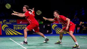 安德斯/莫滕森VS阿伦斯/鲁本 2019欧洲混合团体锦标赛 混合团体小组赛视频
