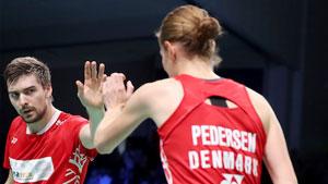 克里斯蒂安森/佩蒂森VS德尔吕/吉奎尔 2019欧洲混合团体锦标赛 混合团体小组赛视频