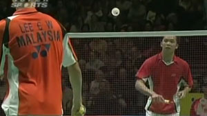 李宗伟VS陶菲克 2009全英公开赛 男单半决赛视频