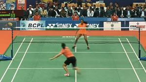 9分钟看完印度全国锦标赛决赛,辛德胡vs内维尔