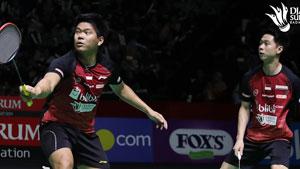 蘇卡穆約/約旦VS希亞扎爾/希亞羅西 2019印尼羽毛球超級聯賽 男團小組賽視頻