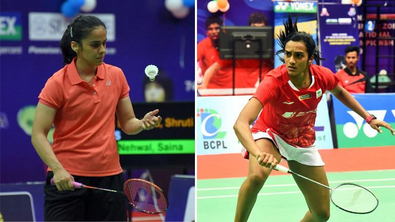 内维尔VS辛德胡 2018印度全国羽毛球锦标赛 女单决赛视频