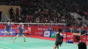 【低视角】2019印尼大师赛,雅思组合vs艾哈迈德/纳西尔