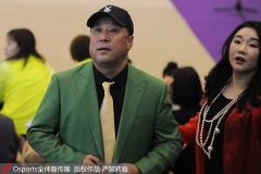 李永波为妻子站台,参加艺术体操开幕式