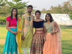 恭喜!两位印度羽球选手昨日结婚