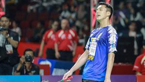 乔纳坦VS阮天明 2019印尼羽毛球超级联赛 男团半决赛视频