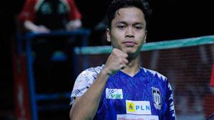金廷VS苏吉亚托 2019印尼羽毛球超级联赛 男团半决赛视频