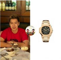 爆費爾納迪戴價值77萬豪華手表,而李宗偉有3大盒!