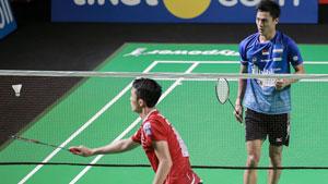 乔纳坦VS西萨 2019印尼羽毛球超级联赛 男团决赛视频