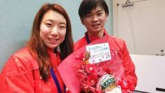 爆东野有纱、渡边勇大将成情侣档?两人剑指2020奥运金牌