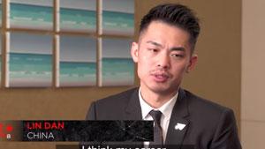 林丹:男单成就林丹第一,我的职业生涯是成功的