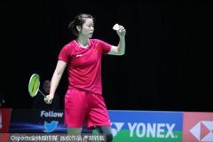 喜憂參半!國羽男單只剩石宇奇,3位女單打入八強丨全英1/8決賽