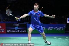 全英赛1/4决赛对阵出炉,石宇奇PK常山干太