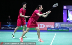 石宇奇出局,雅思逆轉晉級!國羽打入全英混雙女單女雙3項決賽!