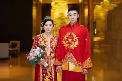 洪炜与赵芸蕾今天举行大婚